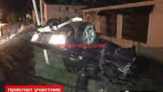Жуткое ДТП под Смоленском: «Жигули» вылетели с дороги и перевернулись