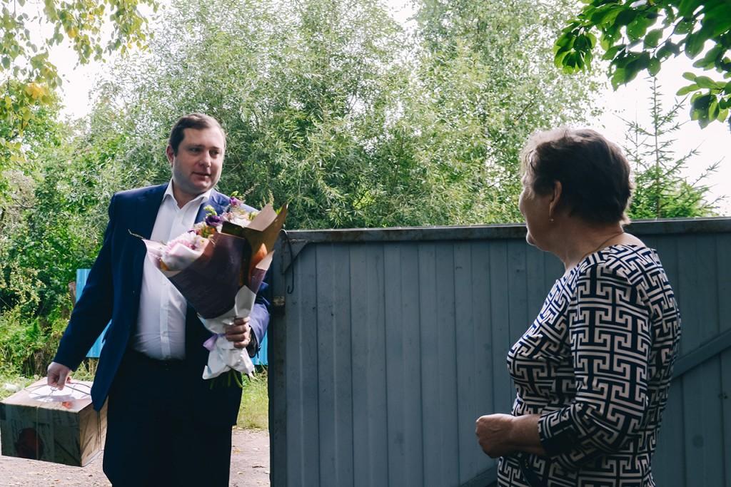 Алексей Островский, Валентина Грищенкова (фото admin-smolensk.ru)