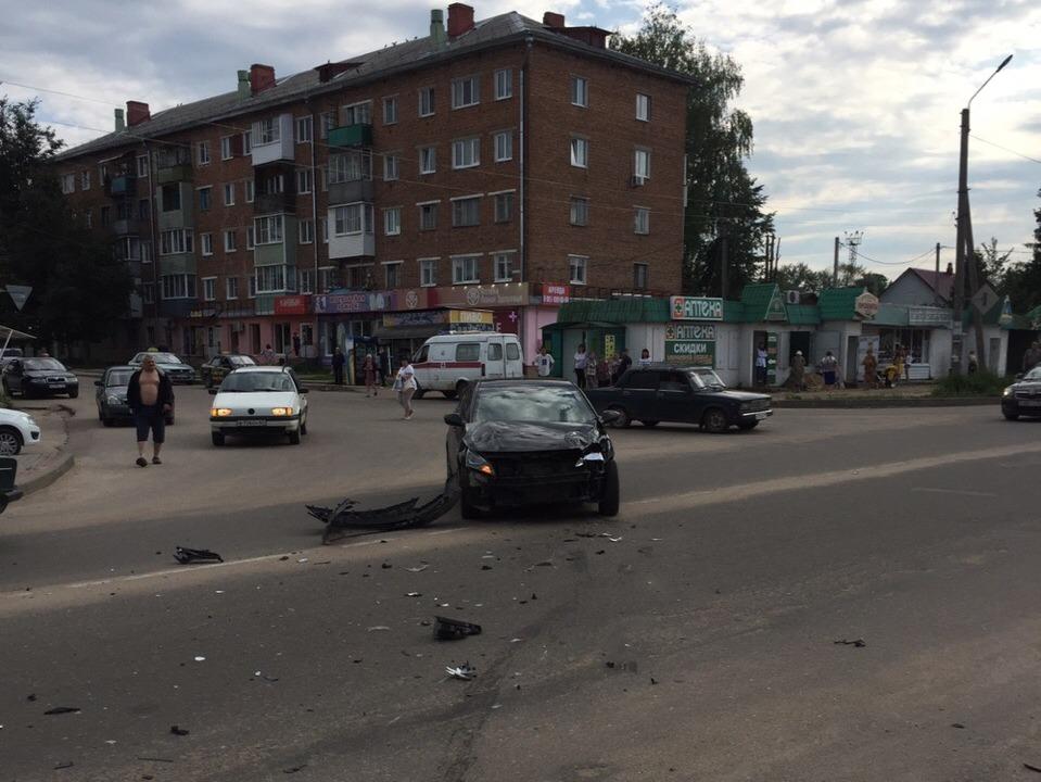 ДТП 20.08.2019, Рославль, Hyundai (фото vk.com id120892431)