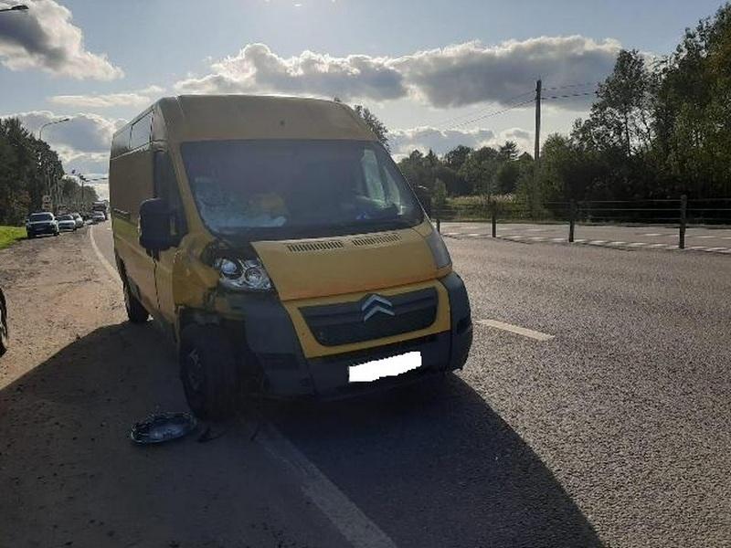 ДТП 22.08.2019, наезд на пешехода, Citroen Jumper (фото mvd.ru)