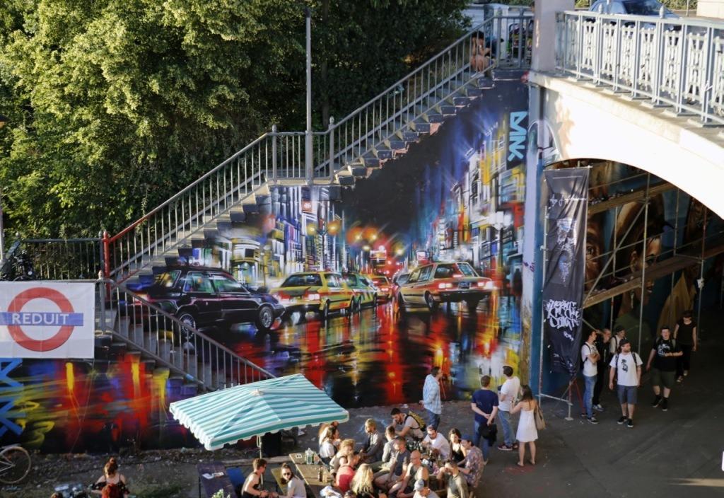 Meeting of Styles, уличное искусство, граффити