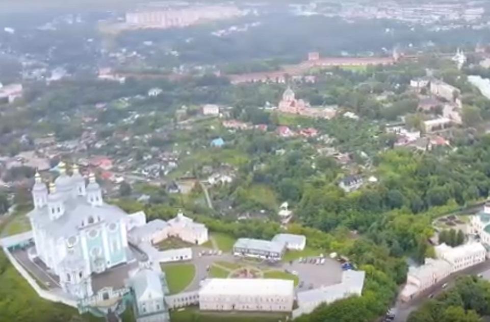 Смоленск с высоты (фото АГГС)