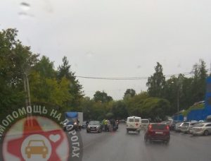 В Смоленске столкнулись три «легковушки»
