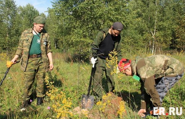 На XXI Международной учебно-тренировочной Вахте Памяти подняли около ста солдат