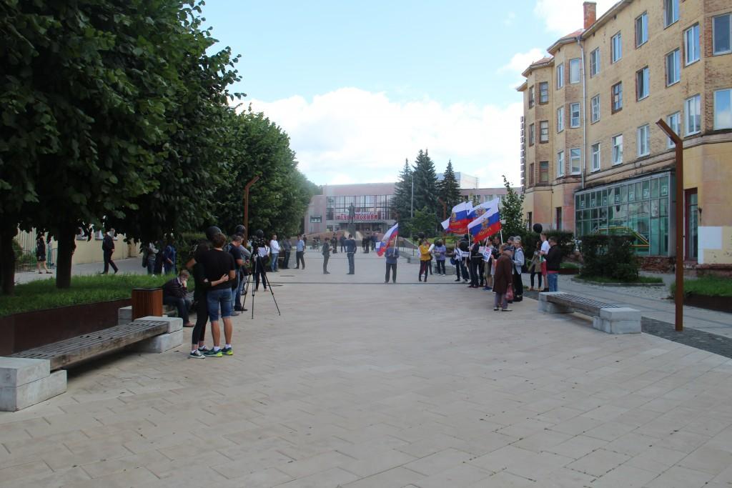 пикет 10.08.2019 сторонников Навального_1
