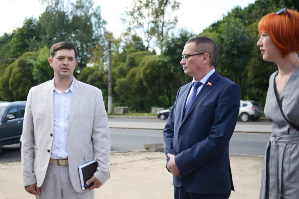 В Смоленске ремонт на улице 25 Сентября завершат раньше срока