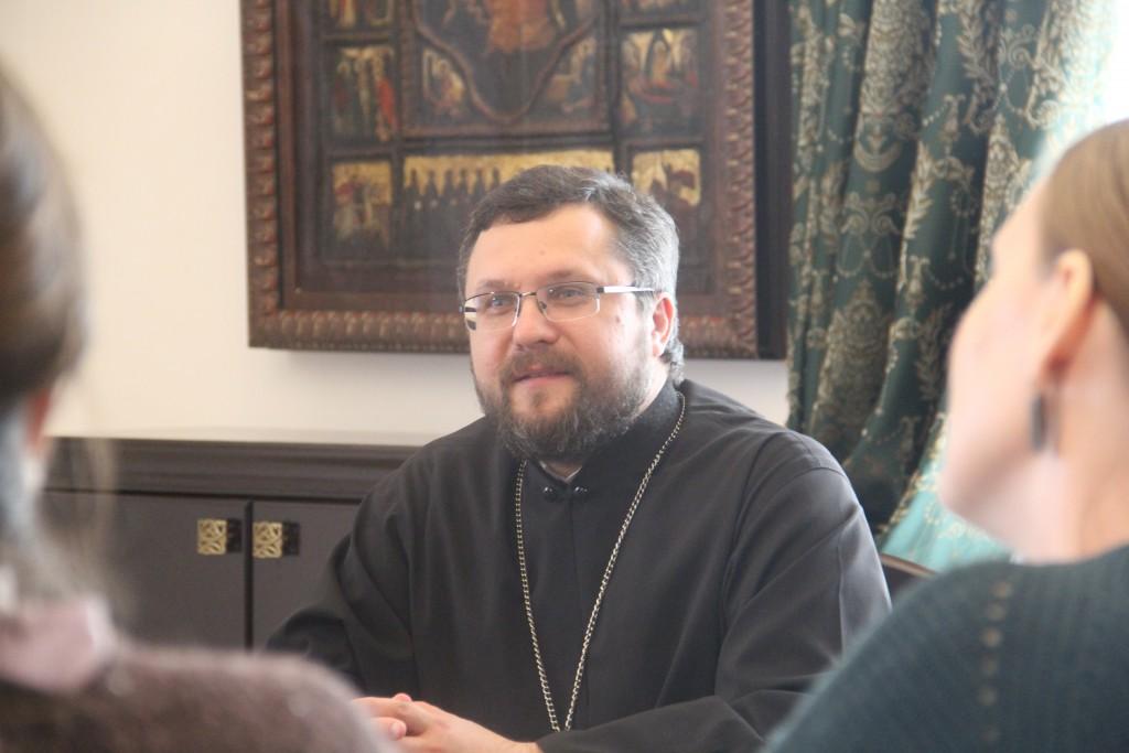 руководитель отдела Смоленской епархии по взаимоотношениям церкви с обществом и СМИ, протоиерей Валерий Рябоконь_1