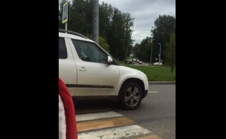шкода пешеход