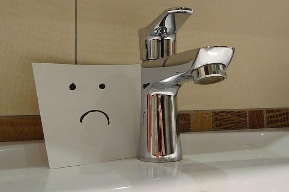 водоснабжение, отключение (фото twitter.com)