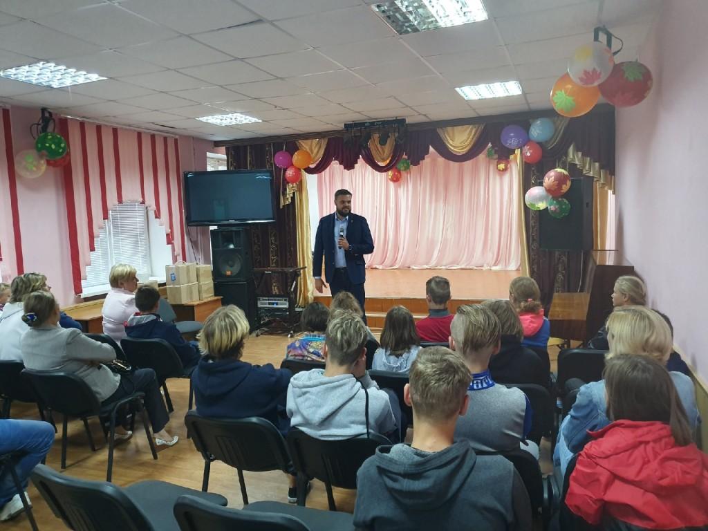 Артём Туров, Собери ребенка в школу_1