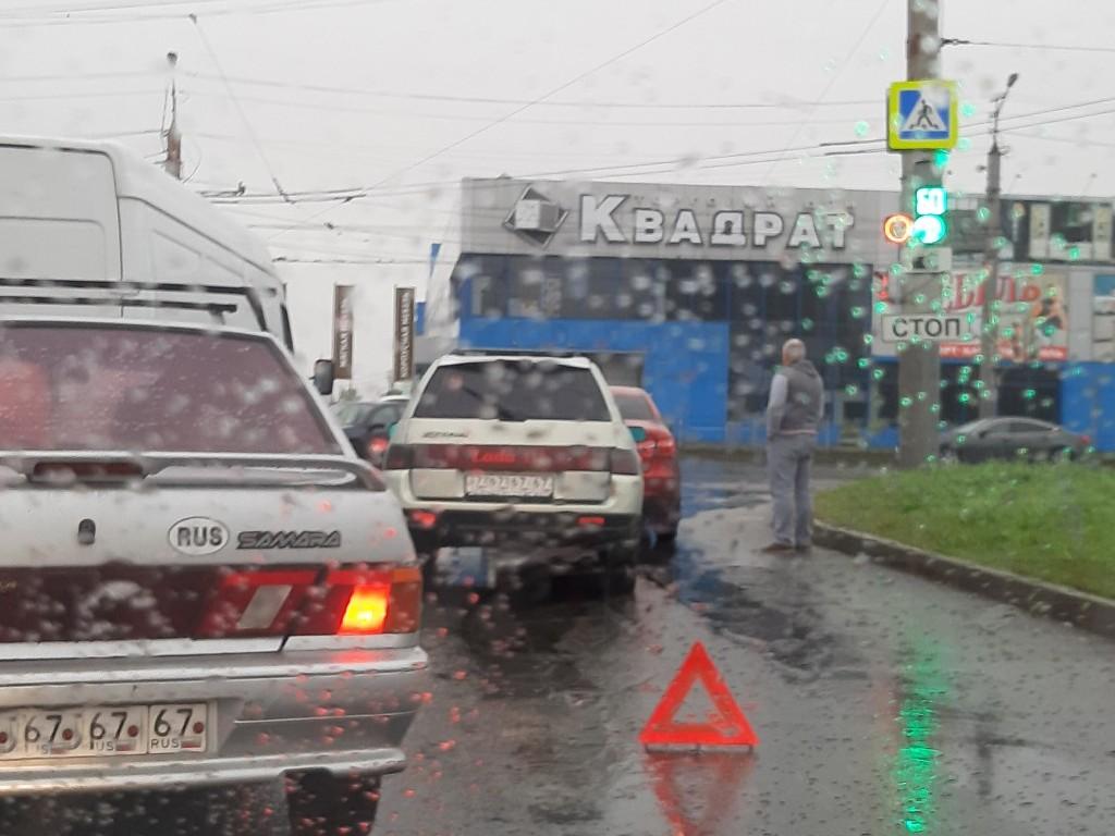 ДТП 4.09.2019, 2-й Верхний Волок - Шевченко (фото vk.com id263713844)