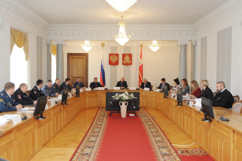В Смоленске обсудили меры по противодействию наркомании