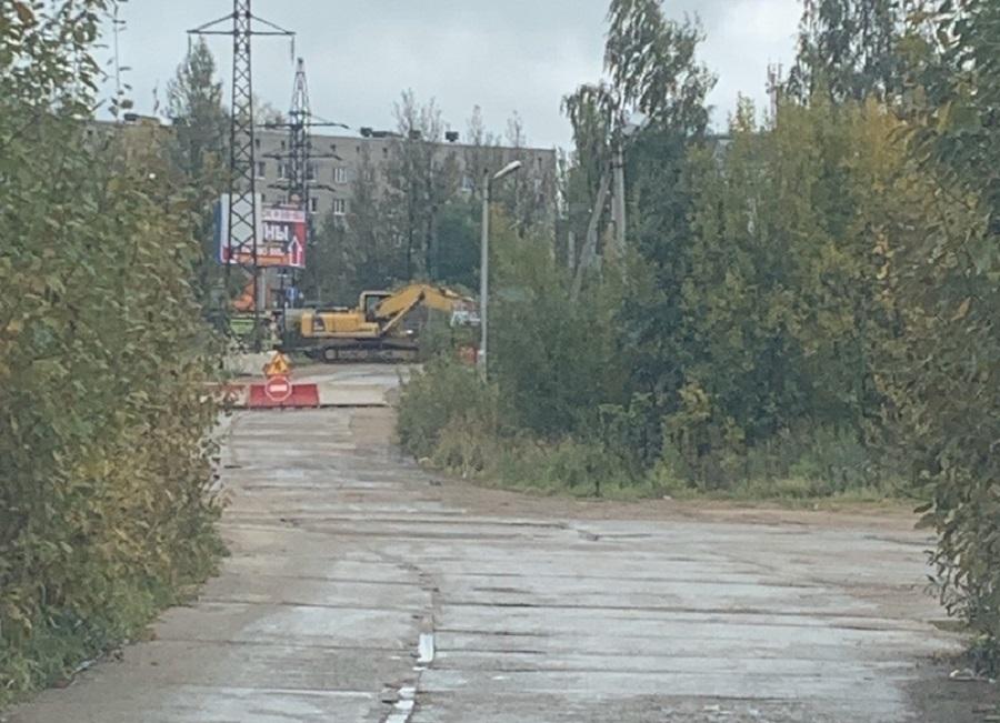 В Смоленске началось строительство дороги в Новосельцы