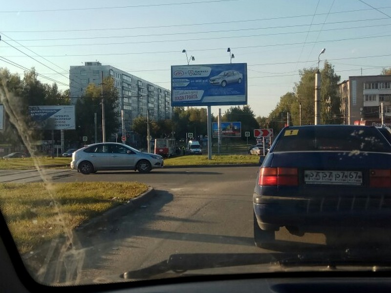 ДТП 26.09.2019, улица Рыленкова, трамвай, Ока (фото vk.com naumi_s)