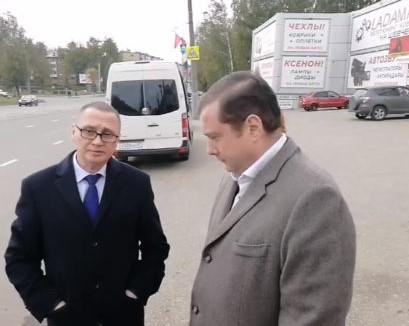 Алексей Островский поручил привести в порядок трамвайные пути на улице Шевченко