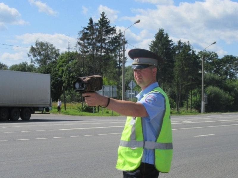 оперативно-профилактическое мероприятие «Скорость», радар (фото gibdd.ru)