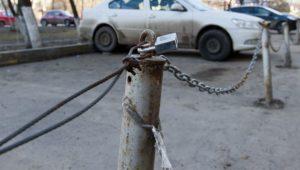 В Смоленске власти потребовали убрать самовольные парковки