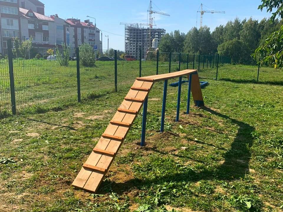площадка для выгула собак, Соловьиная роща (фото vk.com official_smolensk)