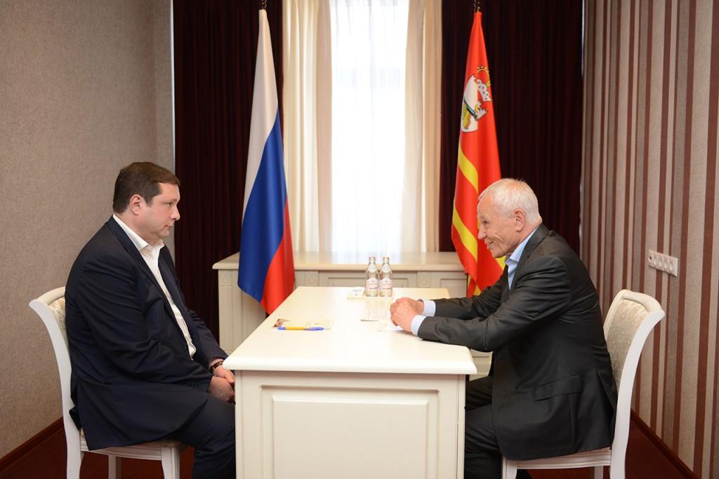 Алексей Островский обсудил реализацию российско-белорусских проектов с госсекретарём Союзного государства Григорием Рапотой