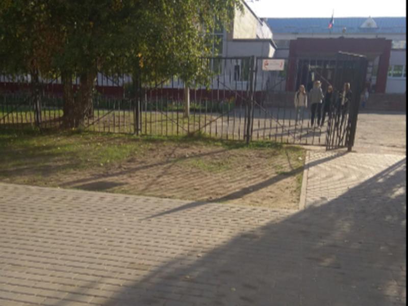 тротуар, пешеходная дорожка к 33-й школе_1 (фото )
