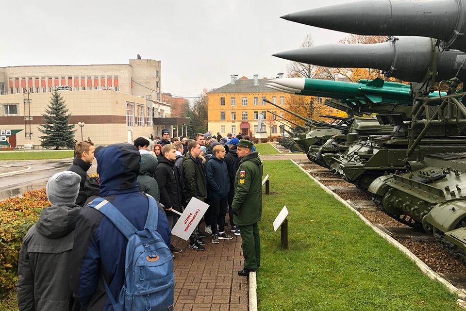 В Смоленске провели молодёжную патриотическую акцию «День призывника»