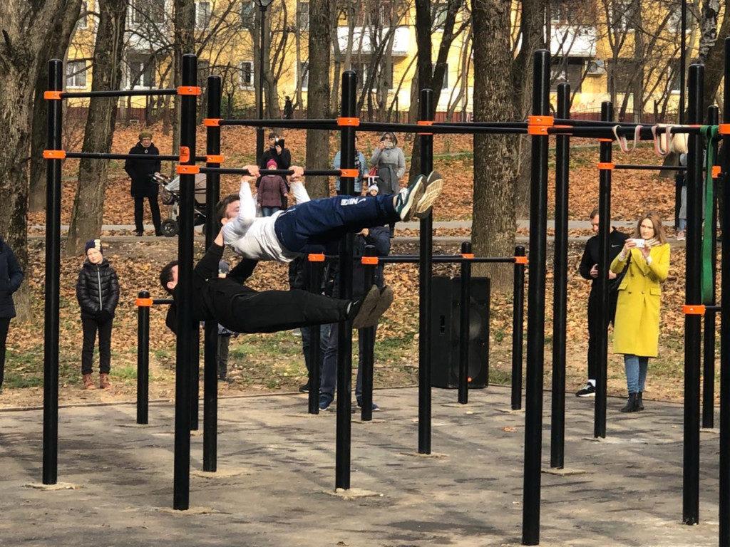 открытие воркаут-площадки, парк 1100-летия Смоленска_2