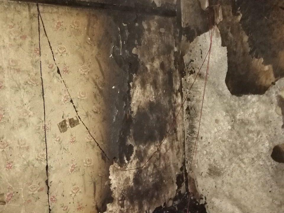 пожар 24.10.2019, улица Поворотная, Вязьма_3 (фото пресс-службы ГУ МЧС по Смоленской области)