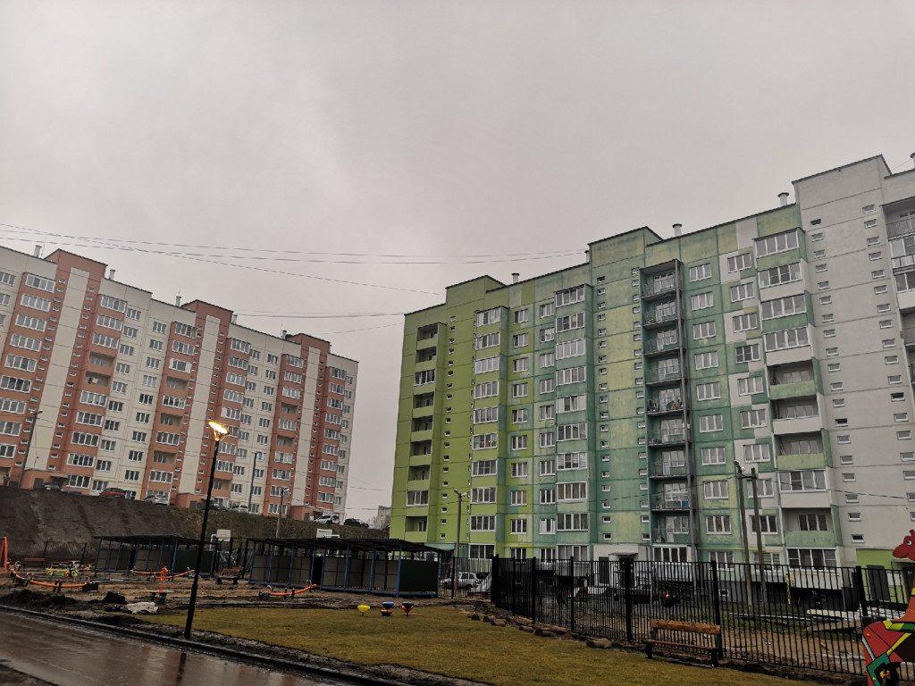 11.11.2019, жилые панельные дома, Королёвка, улица Авиаторов_1