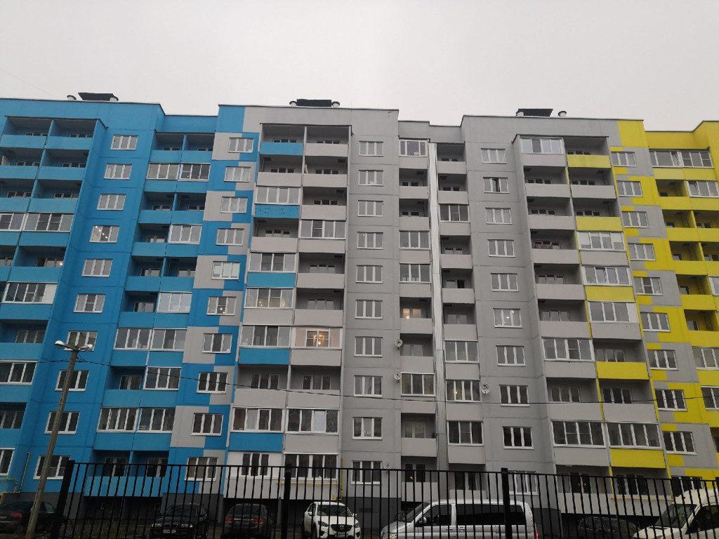 11.11.2019, жилые панельные дома, Королёвка, улица Авиаторов_2