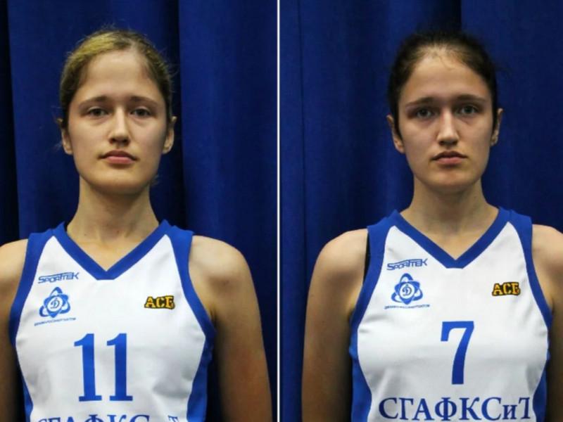 Анна и Ольга Лазовские, СГАФКСТ, баскетбол_1 (фото zen.yandex.ru media krasota_v_sporte)