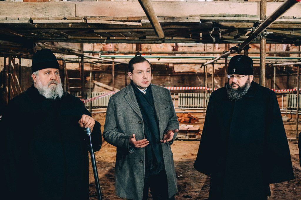 митрополиты Сергий, Исидор, Алексей Островский (фото admin-smolensk.ru)