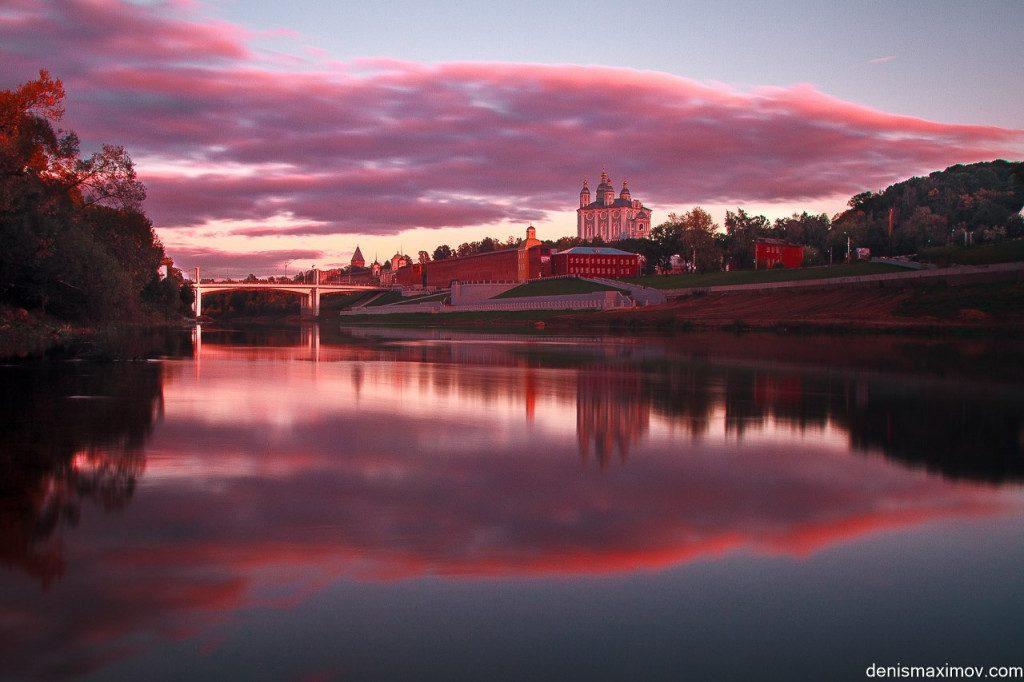 Смоленск, река Днепр