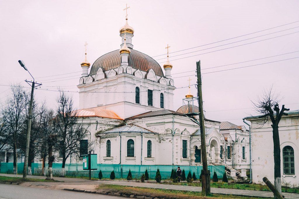 Собор Благовещения Пресвятой Богородицы, Гагарин, ноябрь 2019 г. (фото admin-smolensk.ru)