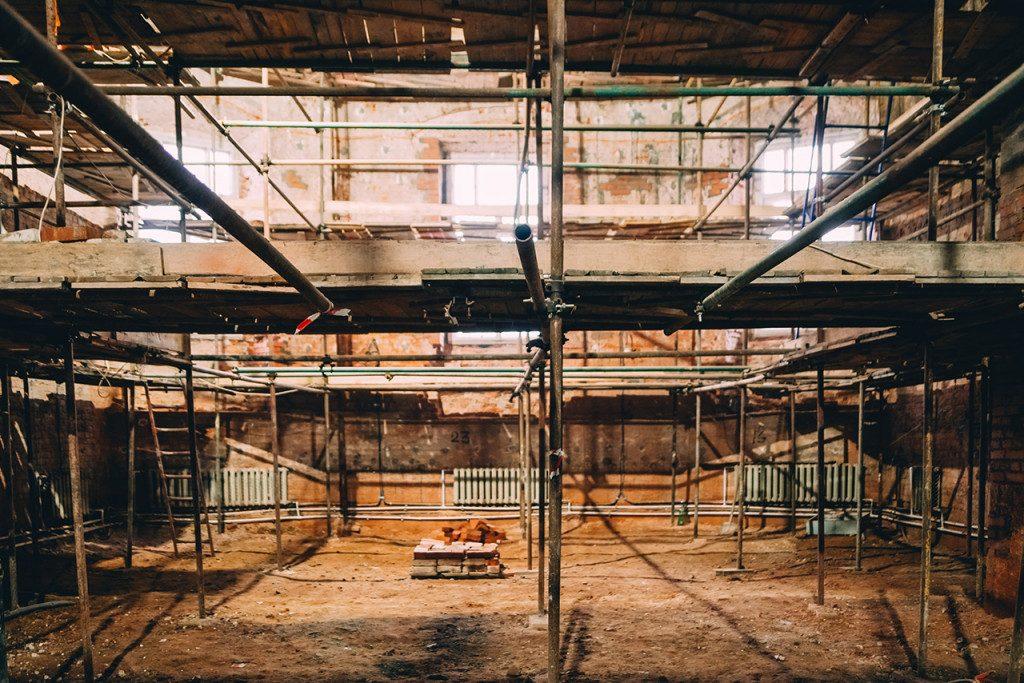Собор Благовещения Пресвятой Богородицы, Гагарин, реконструкция, ноябрь 2019 г. (фото admin-smolensk.ru)