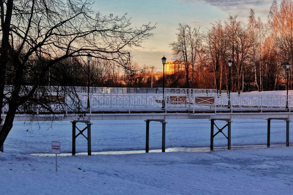 Соловьиная роща, пешеходный мост, ноябрь 2019 (фото vk.com smolenskis)