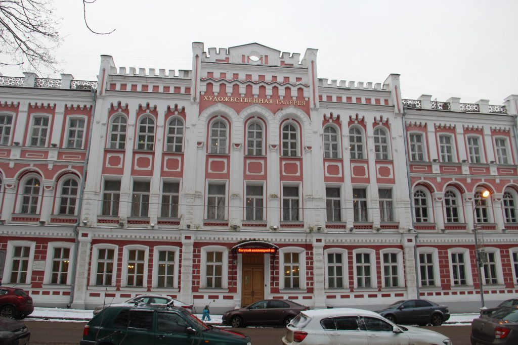 художественная галерея, Смоленский государственный музей-заповедник, декабрь 2019