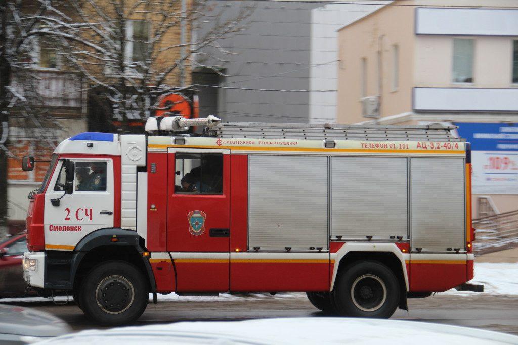 пожарная, улица Николаева, декабрь 2019 г.