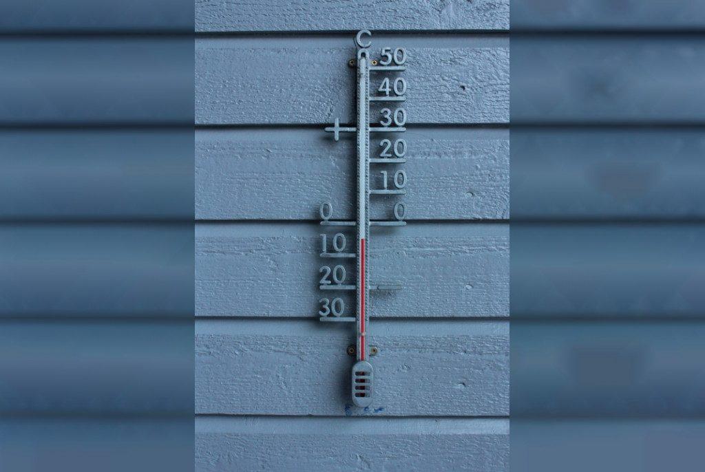 термометр, зима, мороз, похолодание