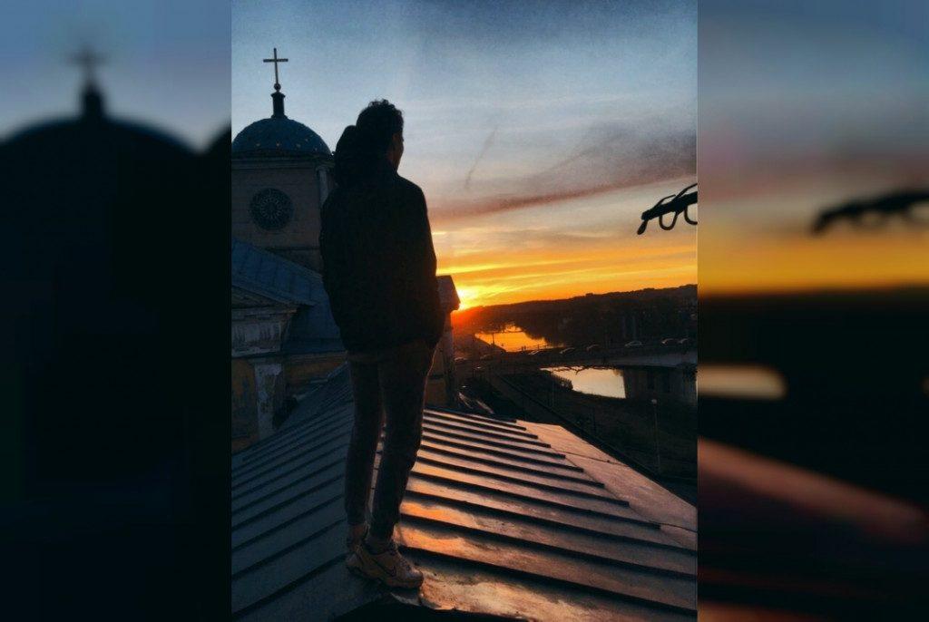 Влад Бахов, церковь Иконы Божией Матери Одигитрия (надвратная) (фото vk.com valerieveter)