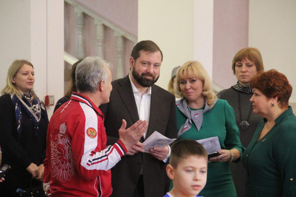 Островский, Семенцова, I Областной родительский форум