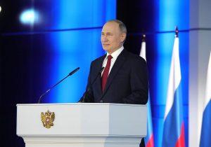 Владимир Путин объявил «майские каникулы»