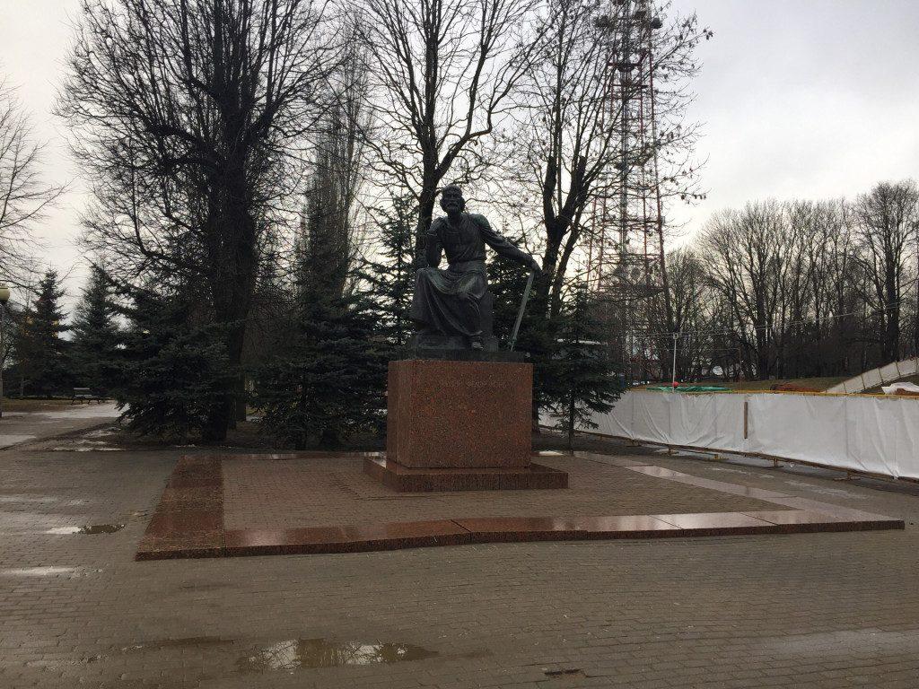 19.02.2020 памятник Фёдору Коню