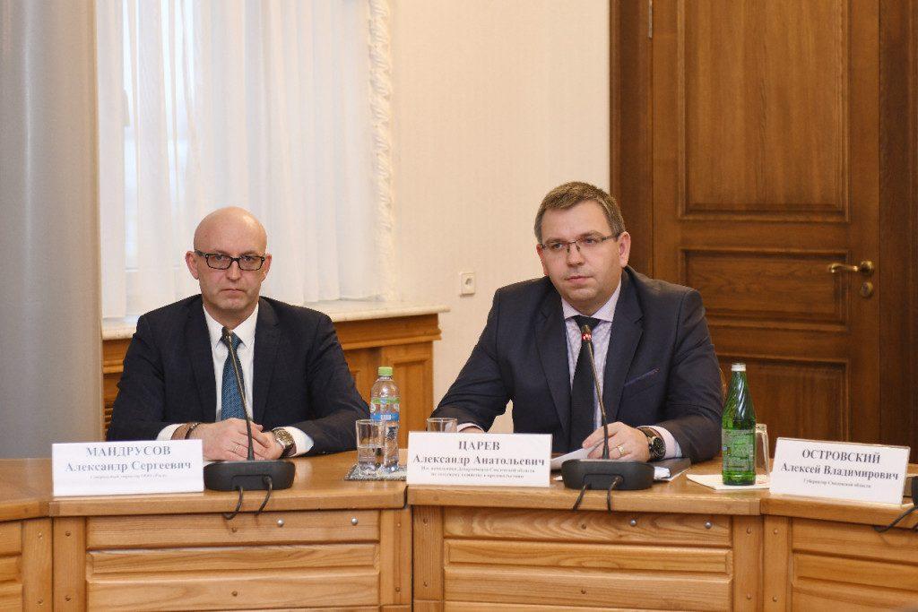 Алексей Островский: «Смоляне должны иметь возможность покупать продукцию, производимую в нашем регионе»