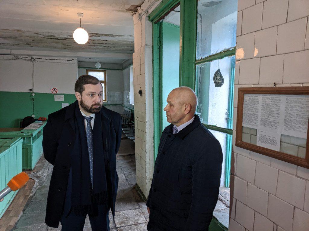 Островский, Загребаев 26.02.2020, Хиславичи, общественная баня