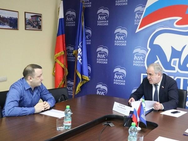 Сергей Неверов, приём граждан, ЕР, точечная застройка, улица Багратиона