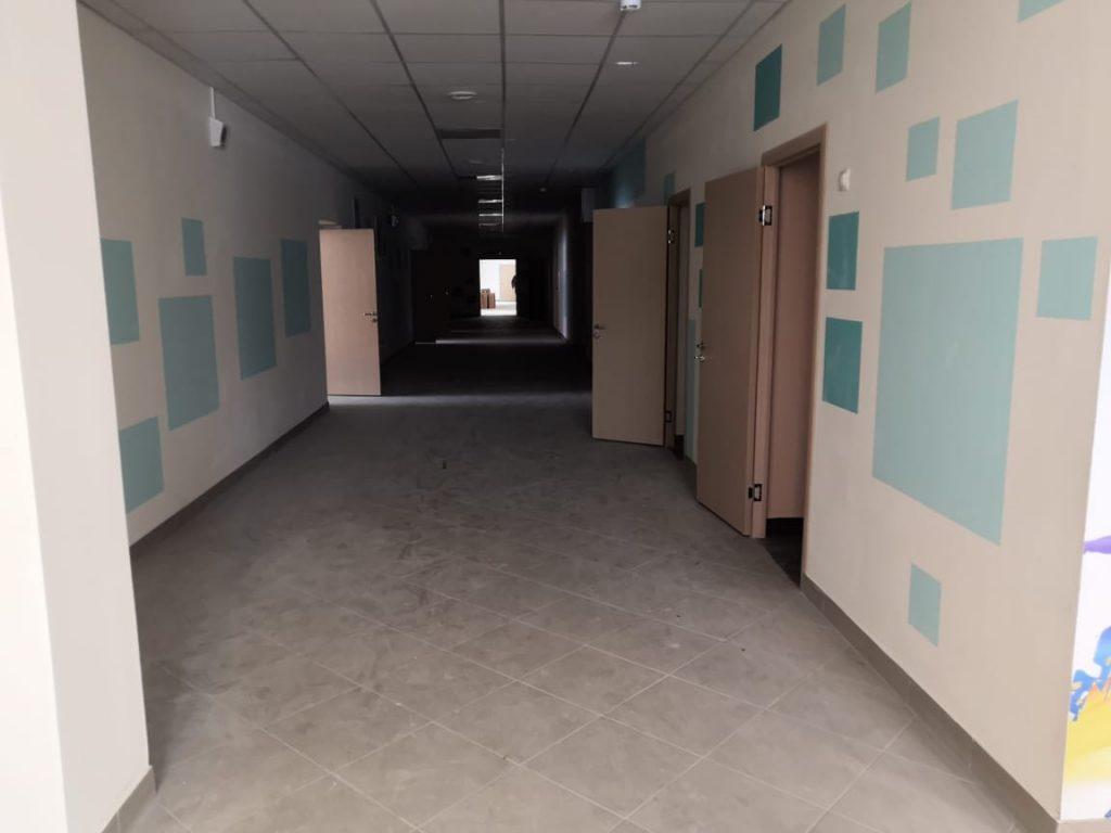 школа 33, коридор нового корпуса