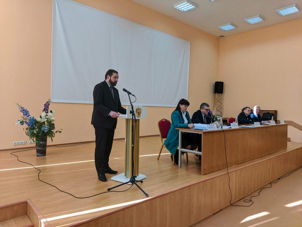 внеочередной Съезд муниципальных образований 20.02.2020, Островский_1