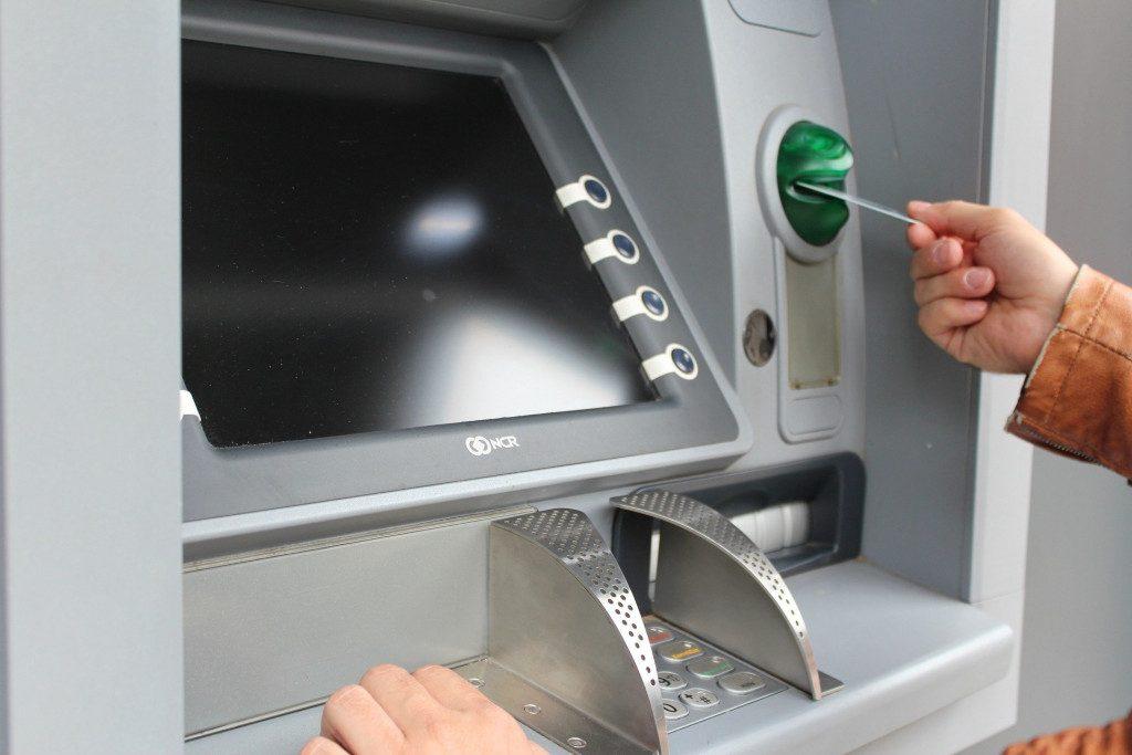 банкомат, ATM, банковская карта
