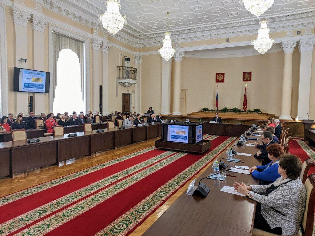 Конашенкова, Островский, расширенное заседание коллегии департамента Смоленской области по социальному развитию