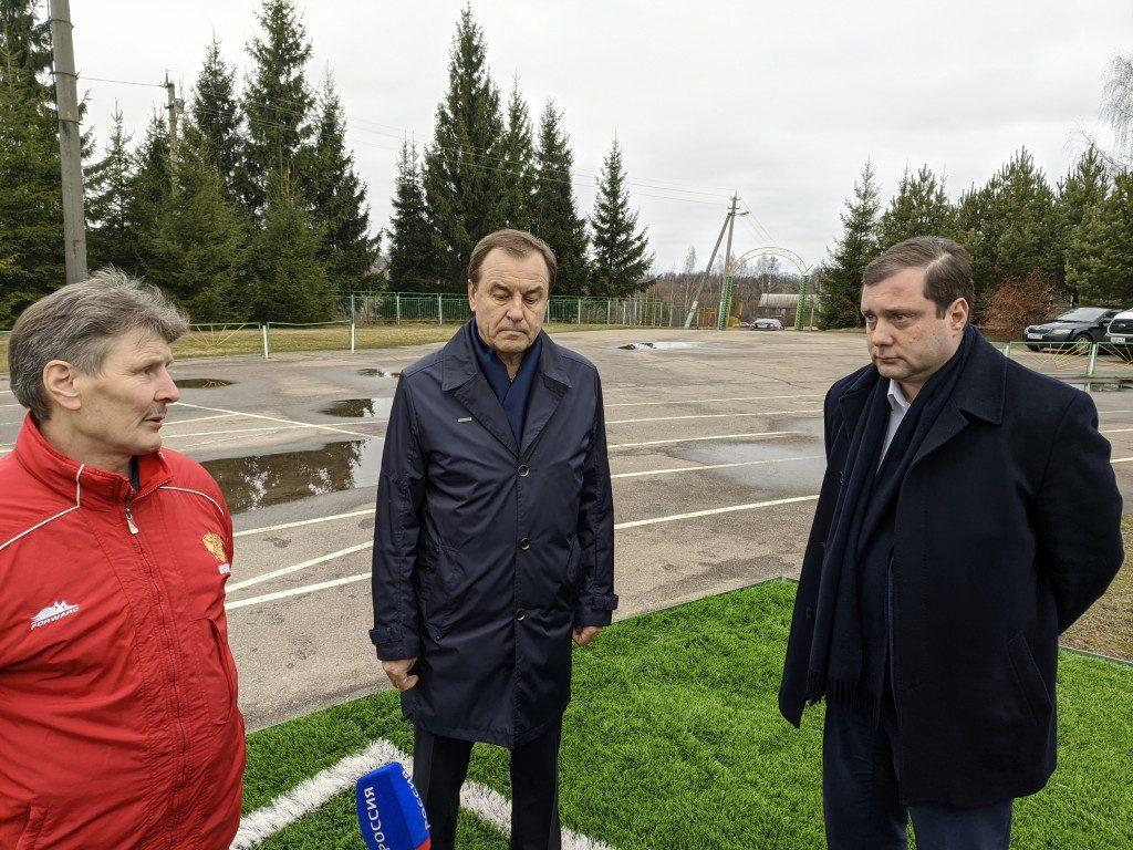 Левцов, Заенчковский, Островский, футбольное поле, Краснинская ДЮСШ, стадион